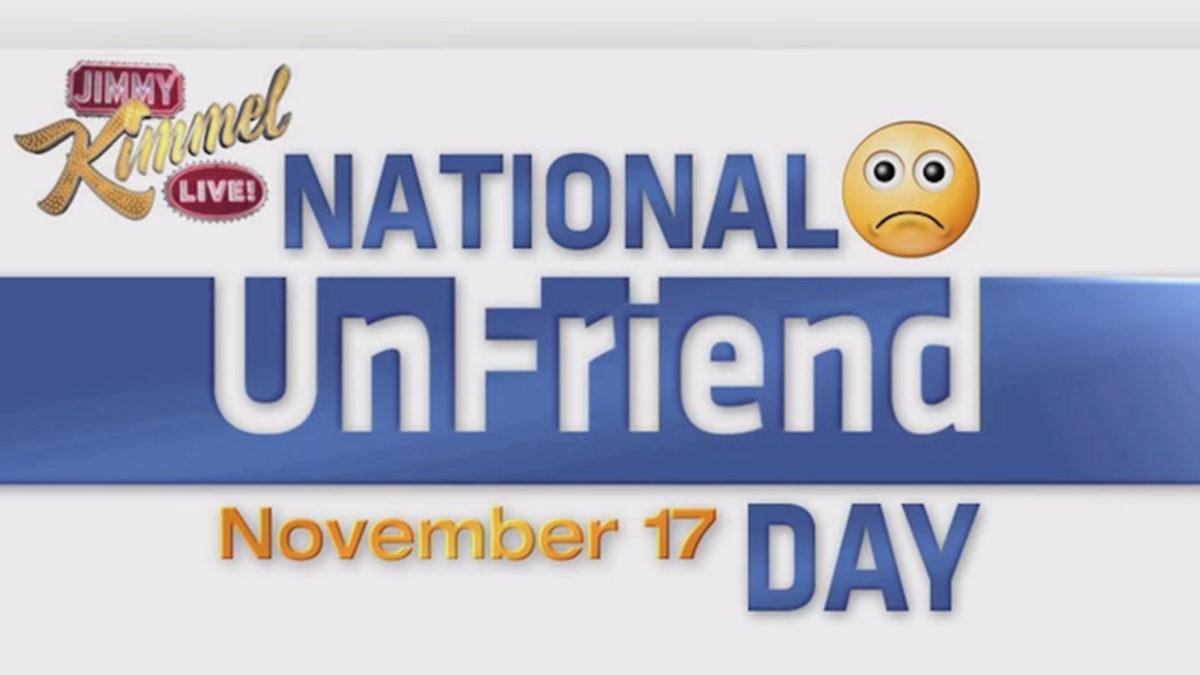 Oggi è l'Unfriend day. Senza scrupoli fai pulizia dei tuoi falsi amici su Facebook