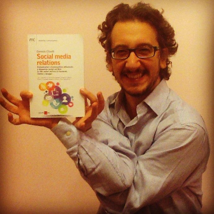 Il libro Social Media Relations di Daniele Chieffi