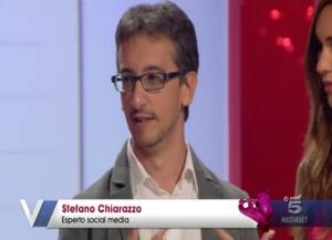 Stefano Chiarazzo, esperto di social media