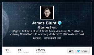 [#socialvip] Costanza e autoironia, l'efficace strategia anti-troll della popstar James Blunt