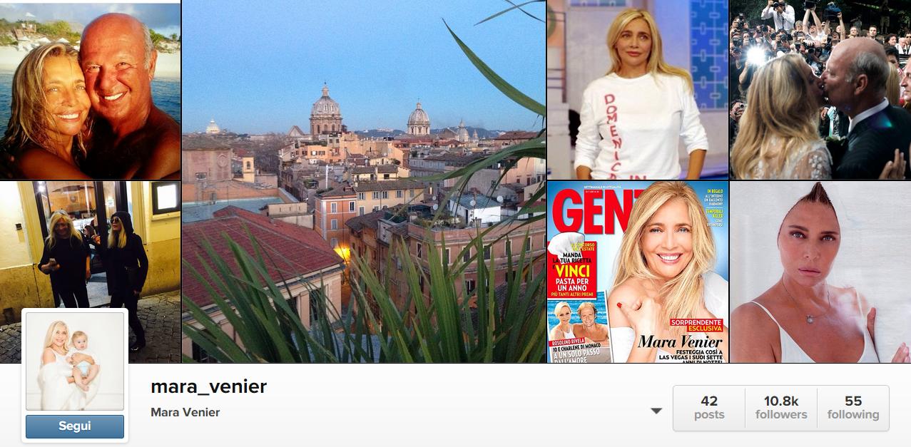 Mara Venier ci riprova con i social network e sbarca su Instagram