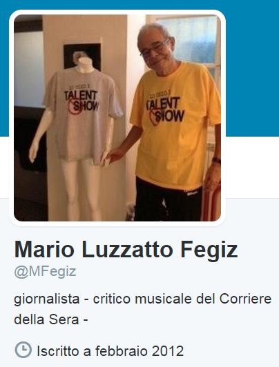 Mario Luzzatto Fegiz e il numero di cellulare pubblicato su Twitter