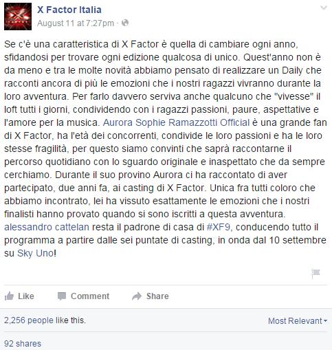 x-factor-aurora-ramazzotti