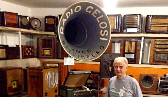 Pelagalli nel Museo della Radio