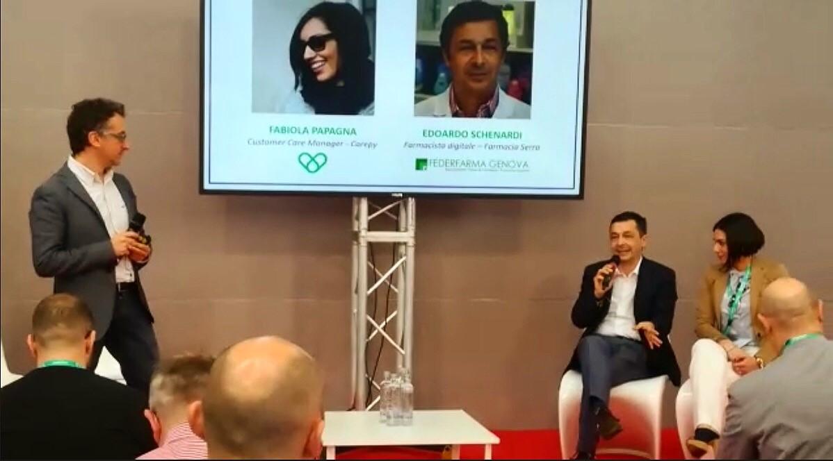 Stefano Chiarazzo a Cosmofarma 2018
